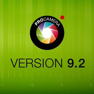 ProCamera Update 9.2 HDR