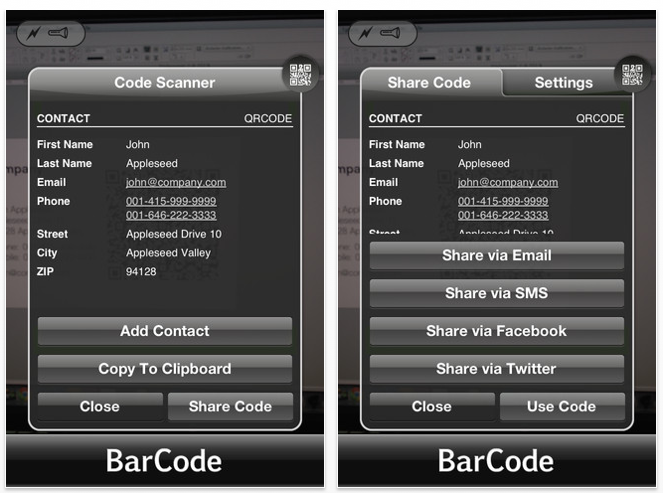 Cocologics launches Barcode app! - ProCamera + HDR - Turn your