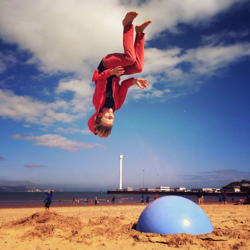 Beach Jump Lewis