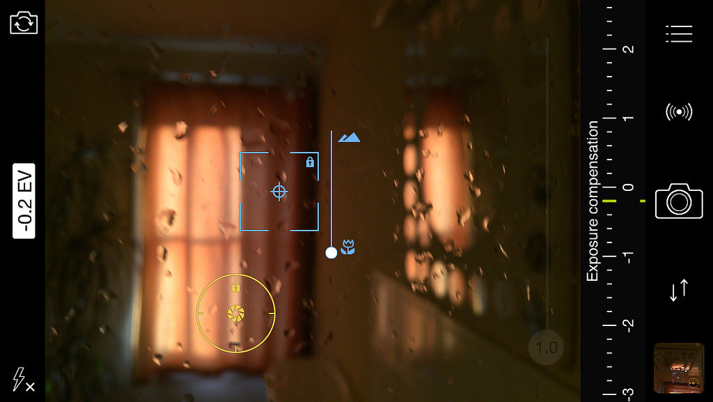 Focus Reticle indoors