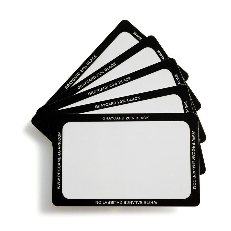 ProCamera-Graukarte