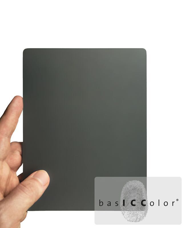 basICColor Medium Graukarte
