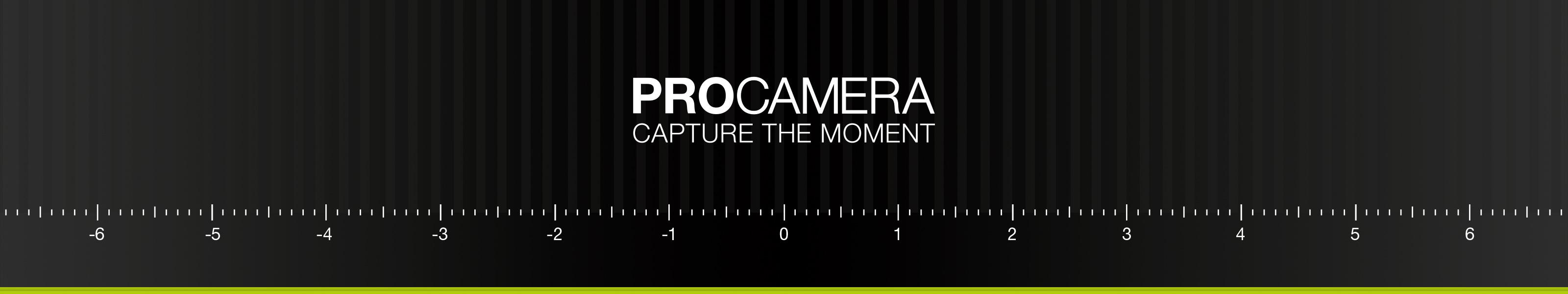 ProCamera - Capture the moment