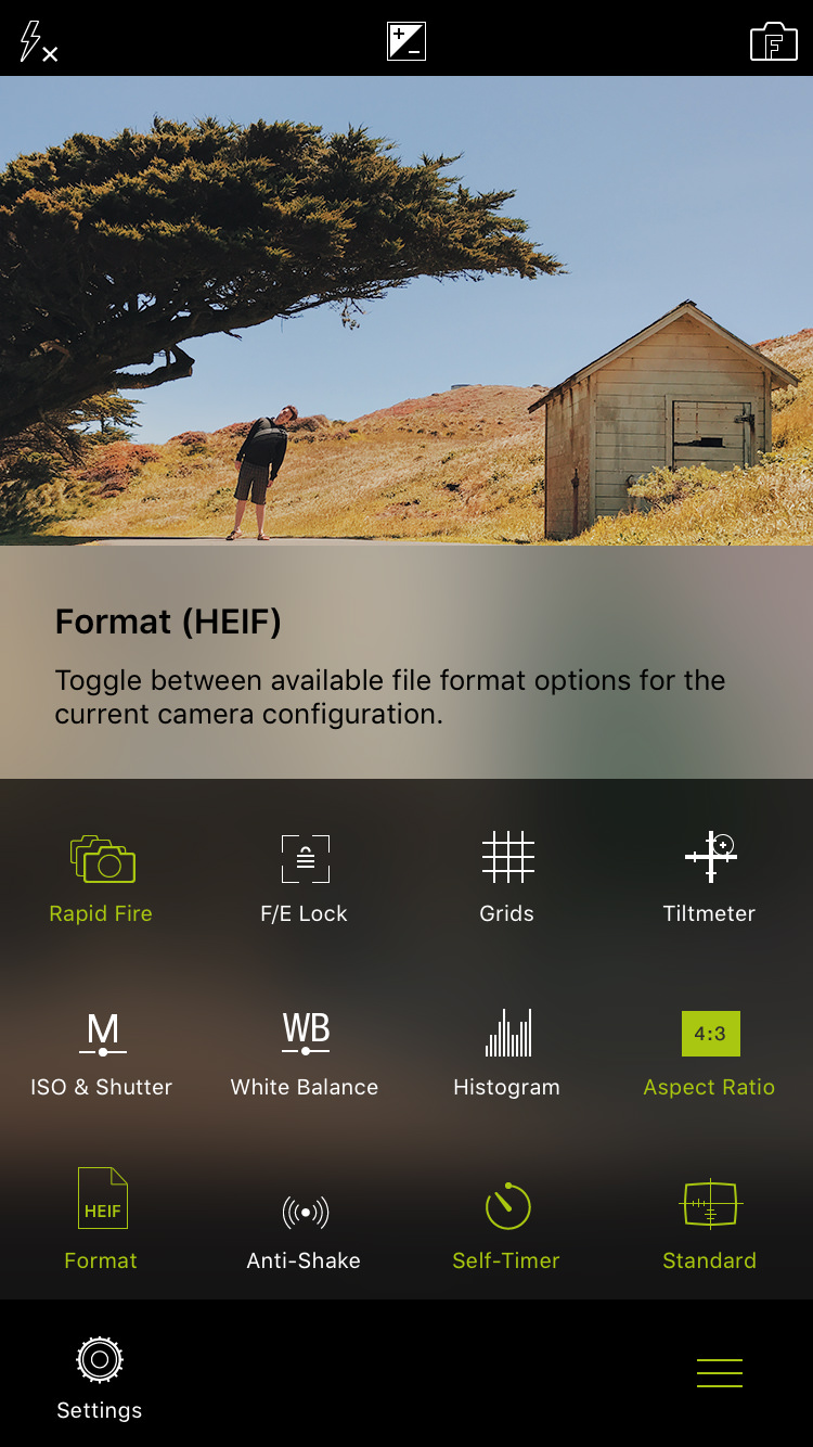 What's New in ProCamera v11 0 – HEIF, HEVC, Mirroring, iOS