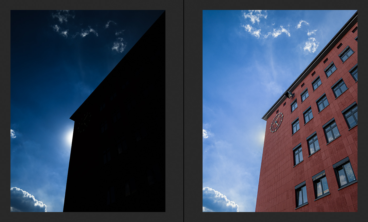 Merge to HDR Pro Comparison View