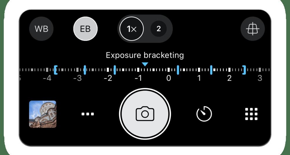 Exposure Bracketing