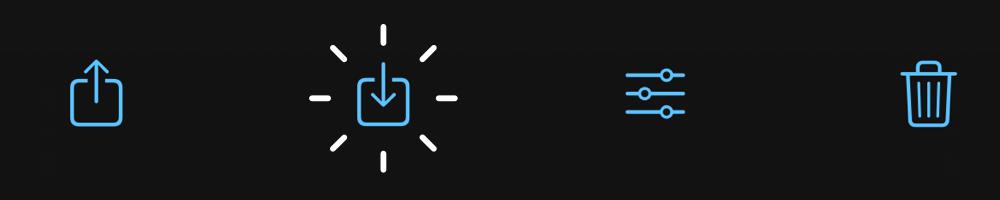 ProCamera Lightbox Export Icon