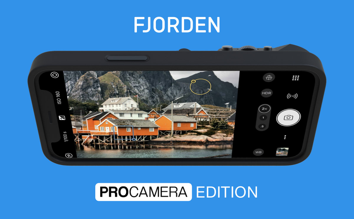 Fjorcan iPhone camera case - ProCamera Special Edition