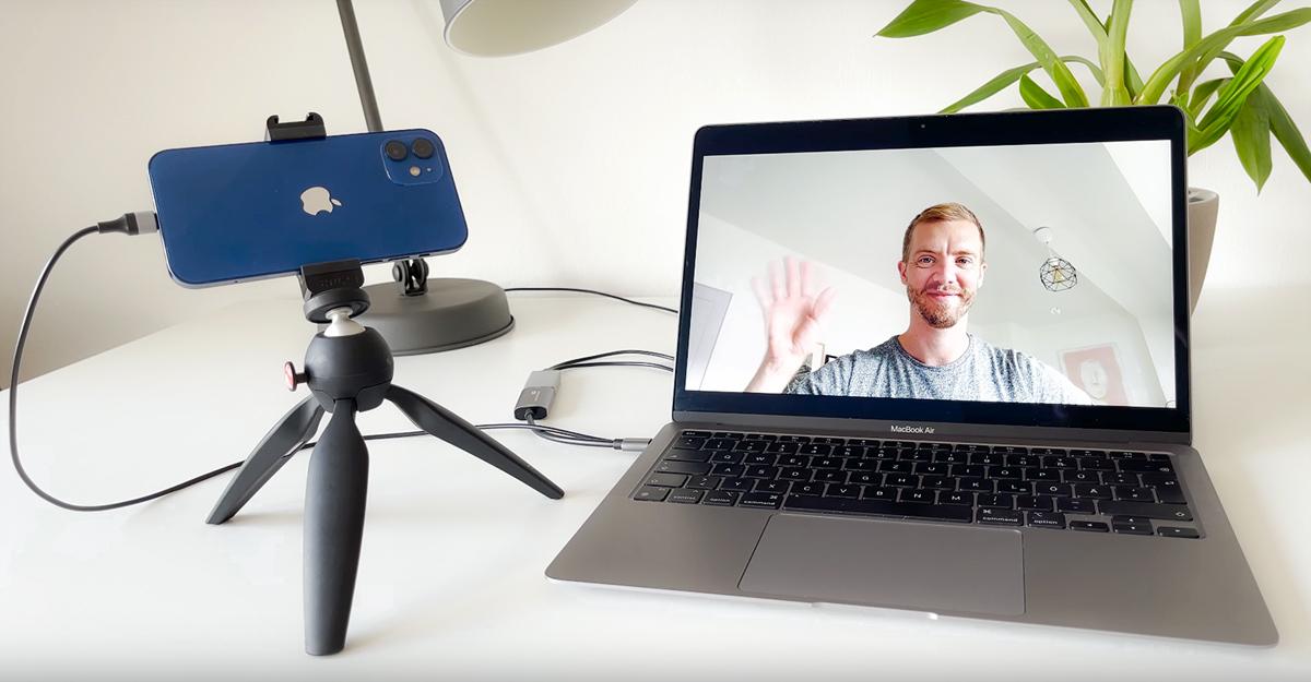 ProCamera Stream Mode – The iPhone as a Webcam